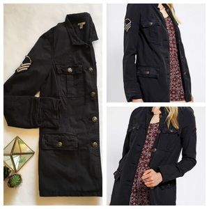 HP🎉Urban Outfitters Military Jacket Spring Navy S